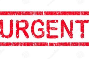 realizar trámite urgente